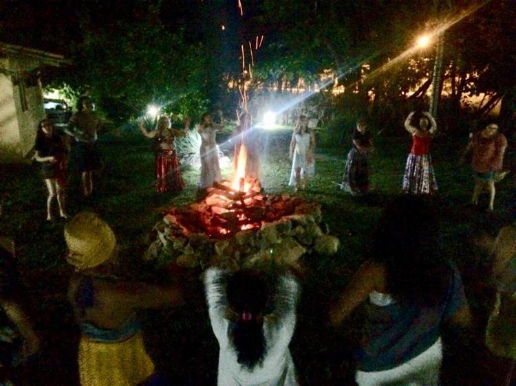 Vivência Retiro Shanti. 2018. Imbassaí - Bahia.